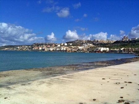A city on the shore of the Mediterranean Sea Reklamní fotografie