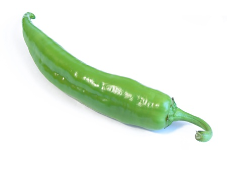 Photo of a hungarian hot green pepper Stock Photo - 8430233