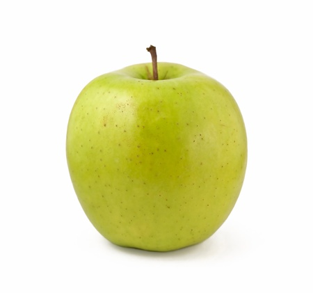 Photo of a green apple isolated on white background Stock Photo - 8801874