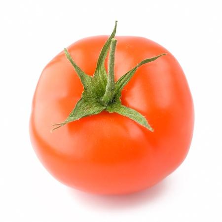 A fresh tomato isolated on white background Stock Photo - 9209838
