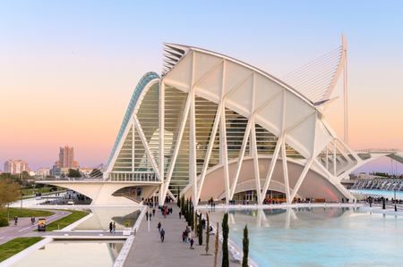 Museum of science in Valencia, Spain