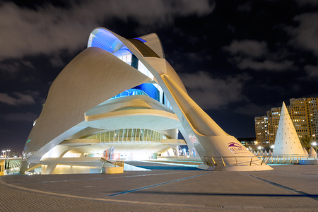 Opera house in Valencia, Spain