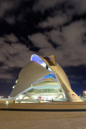 Opera house in Valencia, Spain