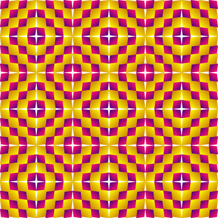 pulsation: Motion illusion  Expansion   Op Art  Optical illusion, expansion, bulge and distortion  Hypnotic illusion  Abstract background, seamless pattern Illustration