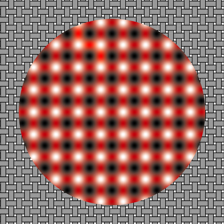 disappear: Optical illusion of movement  Image is called Out of Focus  Background with the optical illusion of movement, Seamless pattern