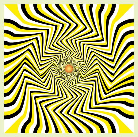 warped: Movement illusion  Abstract background, seamless pattern