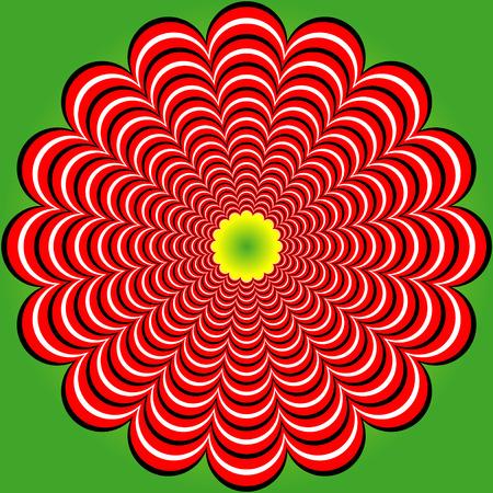torsion: Strip distortion (Illusion). Stripy lines torsion. Abstract stripy lines torsion backdrop. Abstract strip distortion twisted backdrop Optical Illusions Art