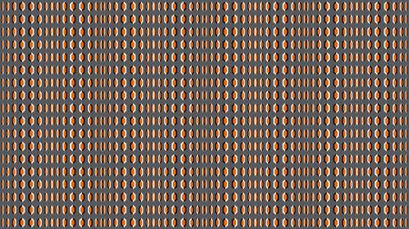 Visual optical illusion. The optical illusion of the movement of the moving waves, the moving polygons, the illusion of movement, the seamless pattern. Optical illusions image moving Illustration