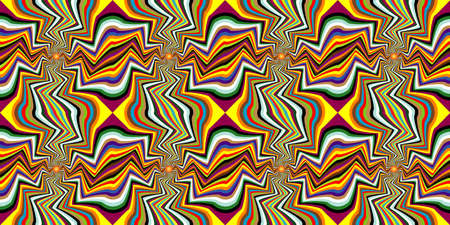 Hypnotic show of rotation. Spinning background. Abstract background, seamless pattern. Design element. Illustration