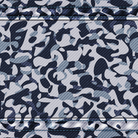 Military camouflage winter pattern. Vector illustration, eps10