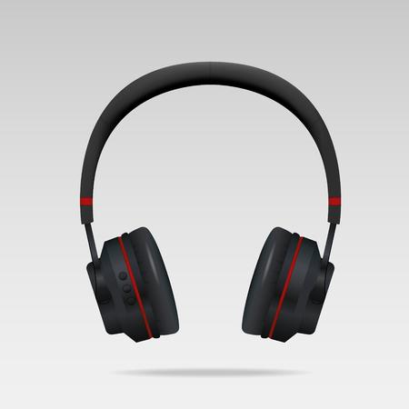 Realistic Headphones. Vectror illustration, eps10