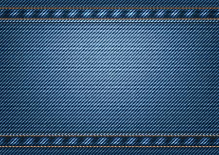 Jeans background. Vector illustration