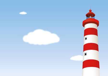 Lighthouse. Vector illustration, eps10 Ilustração