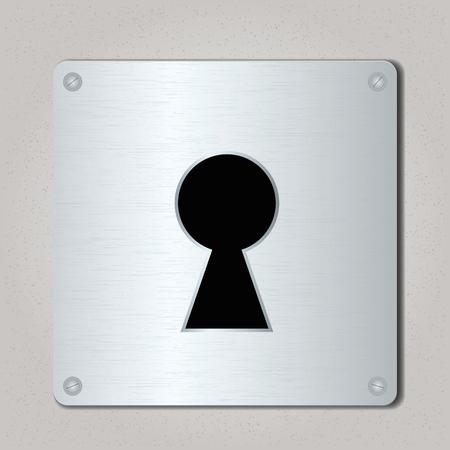 Lock icon. Vector illustration, eps10 Ilustração