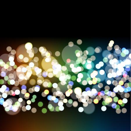 Blurry Lights. Vector illustration, eps 10 Ilustração