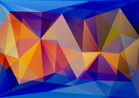 Abstract polygone background. Vector illustration, eps10