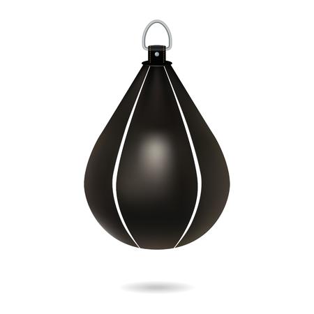 Big punching bag. Vector illustration Ilustração