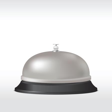 Service bell. Vector illustration