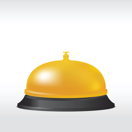 Service bell. Vector illustration Banque d'images - 102882980