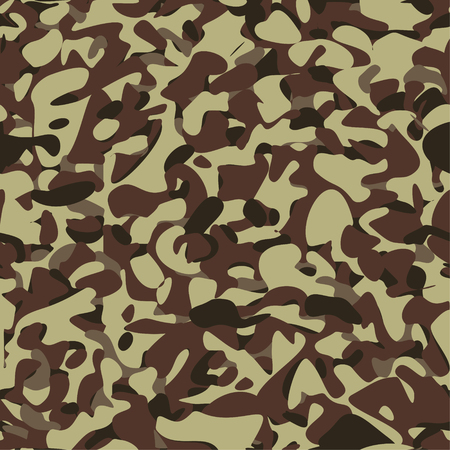 Military camouflage brown pattern