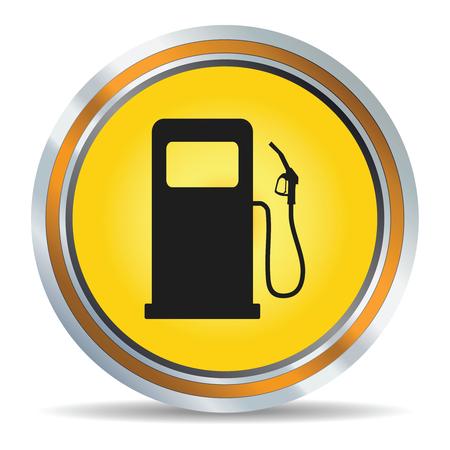 Fuel icon in vector