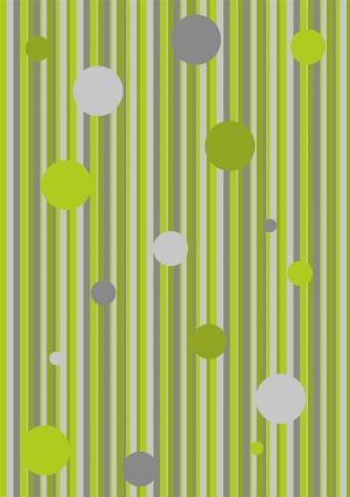 Color de fondo de la raya con el círculo (verde, gris) Foto de archivo - 20444852
