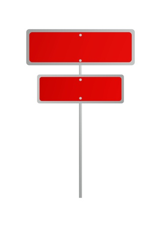 traffic sign  illustration, billboard, board, roadsign, board  Stock Vector - 20444872