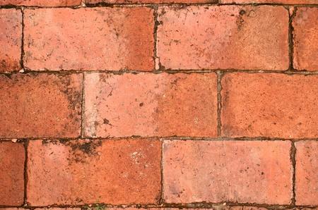 terra cotta brick floor Stock Photo - 13196441
