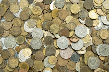 obsolete vecchie monete thai