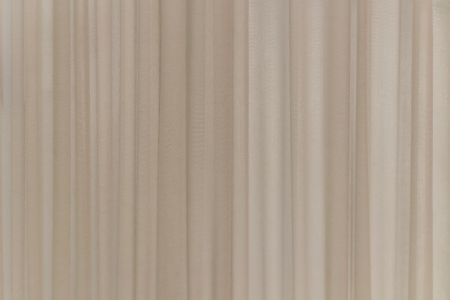 white pleat cotton fabric in vertical