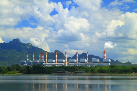 Coal fired power plant photo