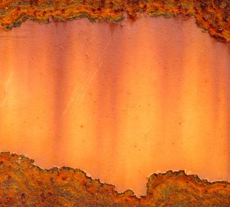 oxidado: Placa de hierro oxidado de fondo Foto de archivo