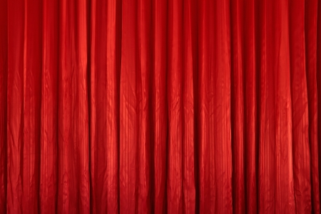 Red curtain textures Stock Photo - 13776390