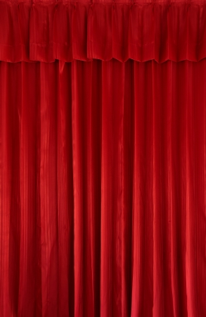 Red curtain background Stock Photo - 15032448