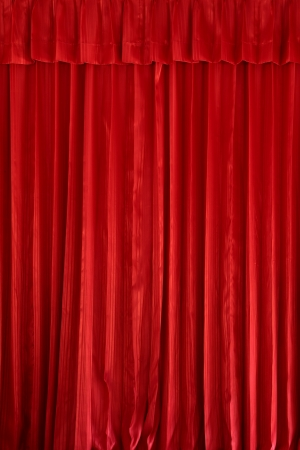 Red curtain background Stock Photo - 15032441