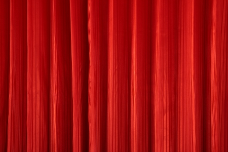 Red curtain texture background Stock Photo - 15321042