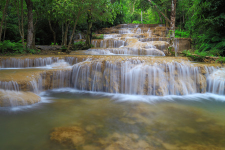 Waterfall in Thamphatai National Park  Thailand Stock Photo