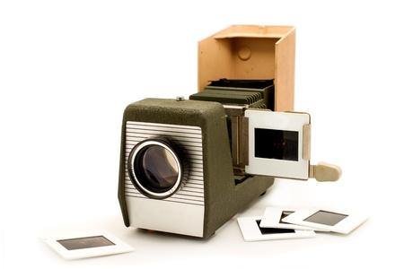 スライド映写機古い機器