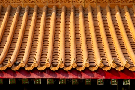 Ancient Chinese Temple Roof