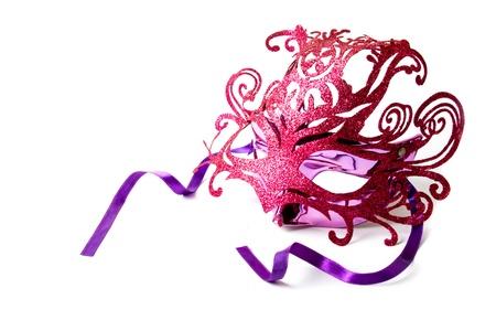 パーティーのための派手なマスクです。 写真素材