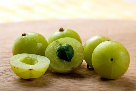 grosella: Grosella espinosa india fresca.