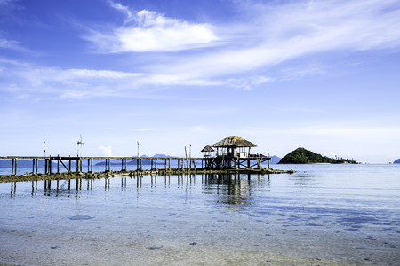 unspoilt: The most beautiful beach in kho Mak, Eastern Thailand.