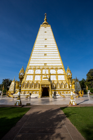 thai believe: The Indian style pagoda in Thai temple.