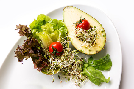 macrobiotic: Fusion food, many kind of vegetable for healthy eating.