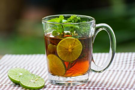Herbal tea, the alternative medicine.