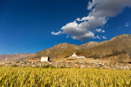 Pibiting Monastery in Zanskar Valley, Ladakh, Northern India