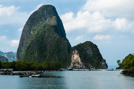 The beautiful islands at Pang Nga province, southern Thailand. 写真素材