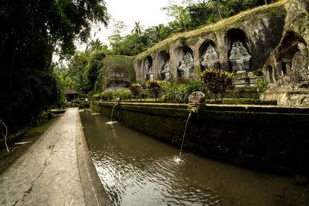 Gunung Kawi, ancient temple in Bali, Indonesia.