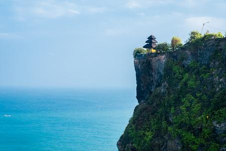 Bali, Uluwatu the temple on the cliff.