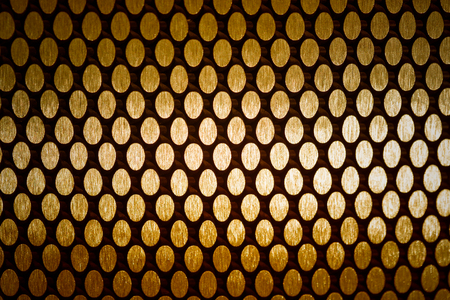 alloy: abstract metal grid background and texture with filter effect Stock Photo